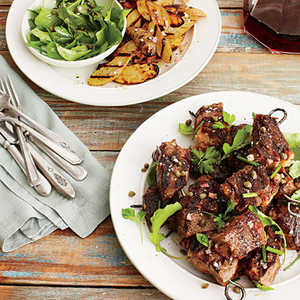 Steak and Fingerling Potato KabobsRecipe