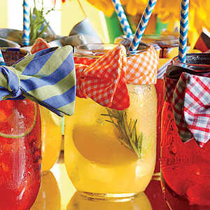 Apple, Lemon, and Gin Shandy Recipe