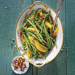 Green Beans with Citrus and PecansRecipe
