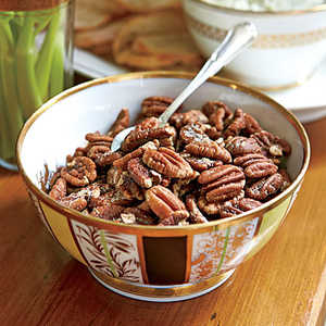 Buttery Toasted Pecans Recipe