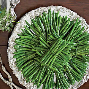 Green Beans with Hollandaise Sauce Recipe
