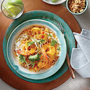 Curried Shrimp with PeanutsRecipe