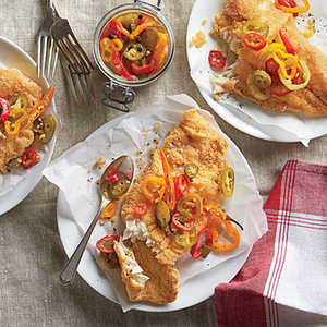 Fried Catfish with Pickled Peppers Recipe