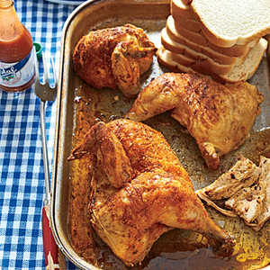 <p>Beer-Can Chicken</p>