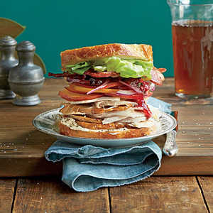 The Best Leftover Turkey Sandwich Ever Recipe