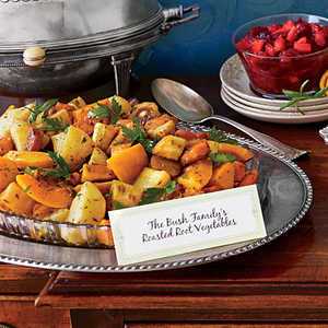 Roasted Root Vegetables with Cider GlazeRecipe