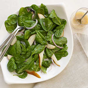 Spinach and Pear SaladRecipe