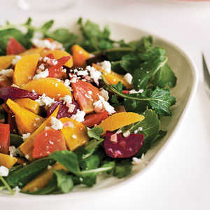 Roasted Beet Salad with Oranges and Queso Fresco (Ensalada de Betabel)Recipe