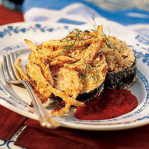 Oven-Crusted Eggplant and Fennel ParmesanRecipe