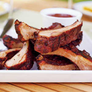 Herb-rubbed Baby Back Ribs Recipe