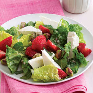 Herbed Romaine Salad with StrawberriesRecipe