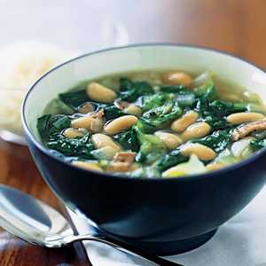 Escarole and White Bean SoupRecipe