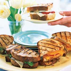 Grilled Cheese SandwichesRecipe
