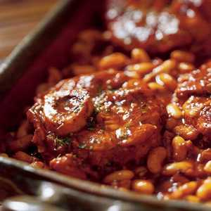 Ossobuco with Tuscan-style Bean and Fennel Ragout Recipe
