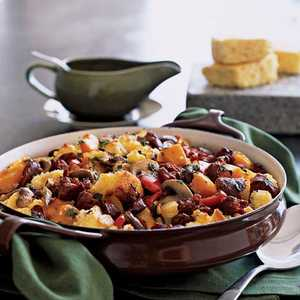 Southwest Cornbread and Chorizo Dressing Recipe