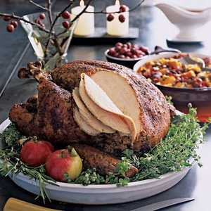 Dry-Cured Rosemary Turkey Recipe