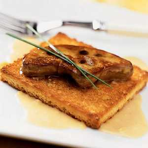 Seared Foie Gras with Ginger CreamRecipe