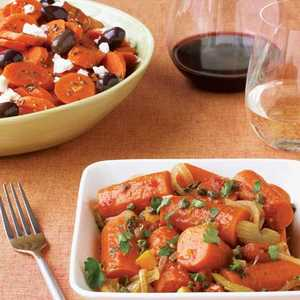 Braised Carrots with Orange and CapersRecipe