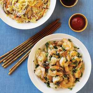 Rice Noodles with Chicken and VegetablesRecipe