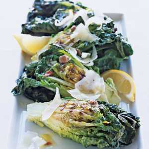 Grilled Lettuces with ManchegoRecipe