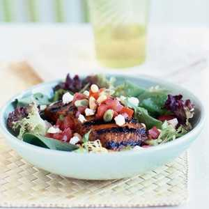 Grilled-Salmon Salad Recipe