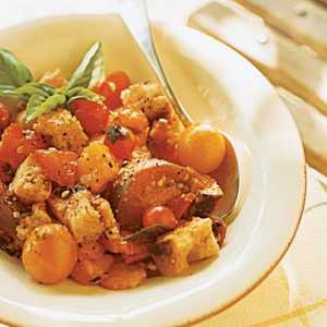 Tuscan Bread and Tomato Salad (Panzanella)Recipe