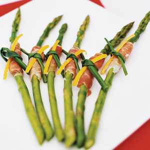 Prosciutto-Wrapped Asparagus with Citrus Dip Recipe
