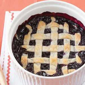 Deep-Dish Blueberry Pie Recipe