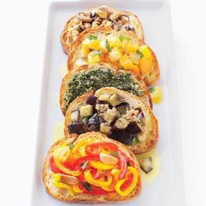 Chickpea and Octopus Bruschetta Recipe