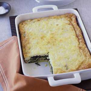 Swiss Chard and Ricotta Salata Egg BakeRecipe