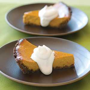 Pumpkin-Orange Mascarpone PieRecipe