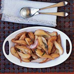 Caramelized Rosemary Pears Recipe