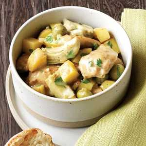 Chicken Stew with Olives and LemonRecipe