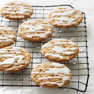 Frosted Ginger CookiesRecipe