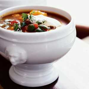 Mexican Beef and Hominy SoupRecipe
