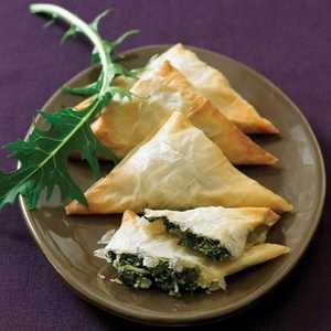 Winter-greens TurnoversRecipe