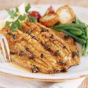 Trout with Browned Butter and CapersRecipe