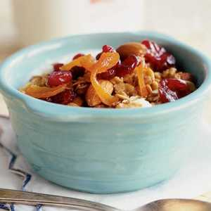 Clementine's Fruit and Nut Granola Recipe