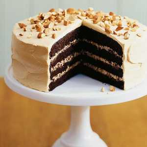 Toffee Crunch Cake Recipe