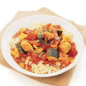 Spiced Chicken and Vegetable CouscousRecipe