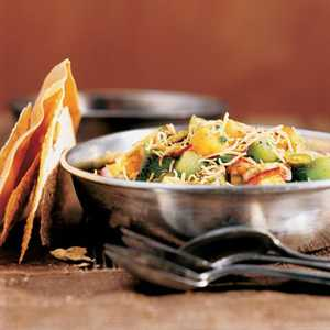 Papaya-Kiwi Chaat with PistachiosRecipe