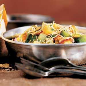 Toasted or Fried PappadumsRecipe