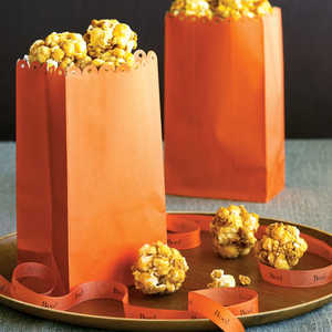 Bite-size Honey Popcorn BallsRecipe