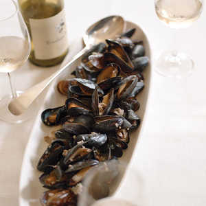 Mussels with Sausage and ThymeRecipe