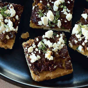 Tapenade–Goat Cheese CanapésRecipe