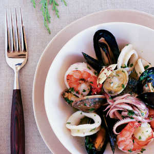 Mixed Seafood Salad (Insalata ai Frutti di Mare) Recipe
