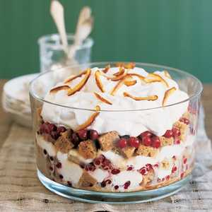 Sticky Toffee Trifle with CranberriesRecipe