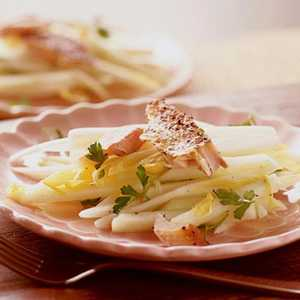 Endive-Apple Slaw with Smoked TroutRecipe