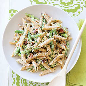 Green Bean and Whole-grain Penne SaladRecipe