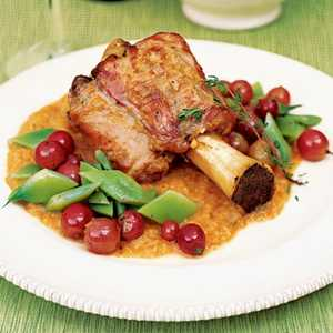 Braised Veal Shanks with Romano BeansRecipe